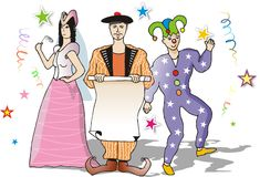 Carnival party Royalty Free Stock Photo