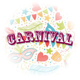 Carnival Party background Stock Photography