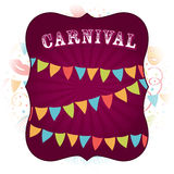 Carnival Party background Stock Image