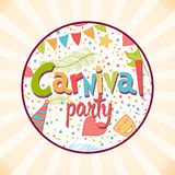 Carnival Party background Stock Photos