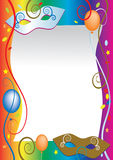 Carnival Party background Royalty Free Stock Images
