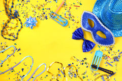 Carnival party celebration concept Stock Images