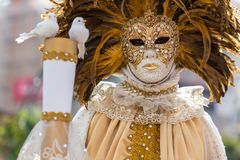 Carnival, the party time in Venetia, Italy stock photos