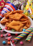 Carnival pastry Stock Images