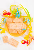 Carnival pastry. Royalty Free Stock Images