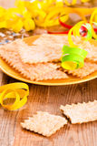 Carnival pastry. Royalty Free Stock Photos