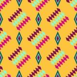 Carnival pattern. Decorative seamless pattern for carnival. Happy Mardi gras.Vector Stock Photo