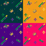 Carnival pattern Royalty Free Stock Image