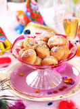 Carnival place setting Royalty Free Stock Photography