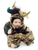 Carnival Porcelain Doll Stock Photography