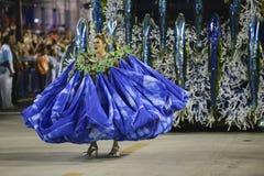 Carnival 2017 - Portela Stock Photo