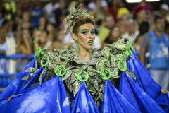 Carnival 2017 - Portela Royalty Free Stock Photo
