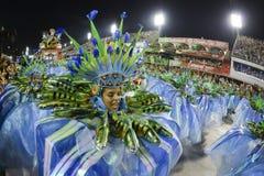 Carnival 2017 - Portela Royalty Free Stock Photography
