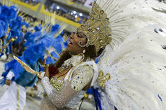 Carnival 2017 - Portela Royalty Free Stock Image