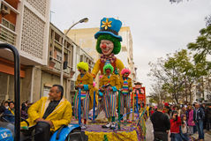 Carnival in Portugal Royalty Free Stock Photo