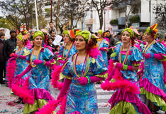Carnival in Portugal Royalty Free Stock Photography