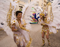 Carnival in Portugal,Febrary 2010 Stock Photo