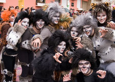 Carnival in Portugal,Febrary 2010 Stock Photography