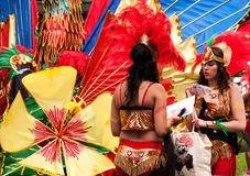 Carnival preparations Royalty Free Stock Photo