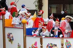 Carnival procession stock photo