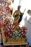 Carnival procession, Marbella. Royalty Free Stock Images