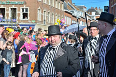 Carnival procession in Nivelles Royalty Free Stock Images