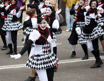 Carnival procession Tarragona.Spain. Royalty Free Stock Image