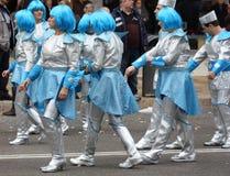 Carnival procession Tarragona.Spain. Stock Image