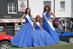 Carnival Queen, Hastings Stock Image
