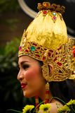 Carnival Queen of Malang, Indonesia Royalty Free Stock Image