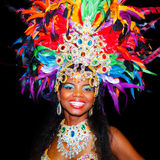 Carnival queen royalty free stock photography