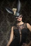 Carnival rabbit Royalty Free Stock Images