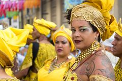 Carnival in Recife, Pernambuco, Brazil. royalty free stock images