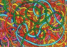 Carnival ribbons Royalty Free Stock Photo