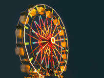 Carnival Ride. Picture of the ferris wheel just after dusk Stock Photo