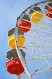 Carnival Ride. Red and yellow Royalty Free Stock Photo
