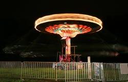 Free Carnival Ride At Night Royalty Free Stock Photo - 5184045