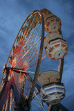 Carnival ride at dusk Royalty Free Stock Photo