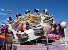 "Carnival Ride Named ""Supernova"" royalty free stock photography"