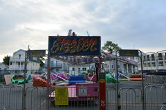 Carnival ride in New Jersey Royalty Free Stock Photo