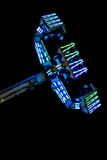 Carnival Ride Night Royalty Free Stock Photo