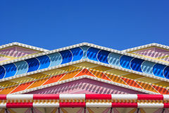 Carnival ride ornamentation. At Oktoberfest in Munich Royalty Free Stock Images