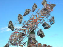 Carnival Ride (The Zipper) Royalty Free Stock Photo