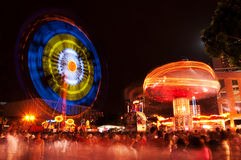 Carnival Rides Royalty Free Stock Images
