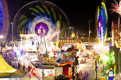 Carnival rides. Royalty Free Stock Photos