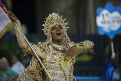 Carnival 2019 - Estacio de Sa royalty free stock photos