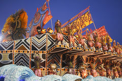CARNIVAL RIO DE JANEIRO - FEBRUARY20 Royalty Free Stock Images