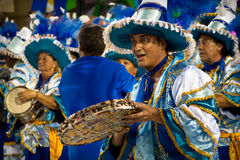 Carnival in Rio de Janeiro Royalty Free Stock Image