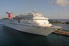 Carnival's Fascination ship Stock Images