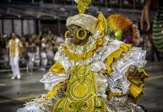 Carnival Samba Dancer Brazil Stock Images